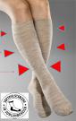 Reisekniestrümpfe Baumwolle mit CE-Zertifikat