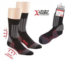 6979 - Sport- und Trekking-Socke mit Silberfaden
