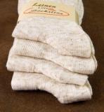 4501 - Damensöckchen Baumwolle-Leinen
